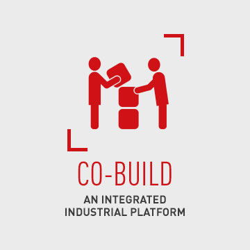 Co-build an integrated industrial platform
