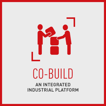 Co-build an integrated industrial platform rollover