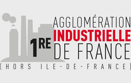 1ère agglomération industrielle de France (hors Île-de-France).