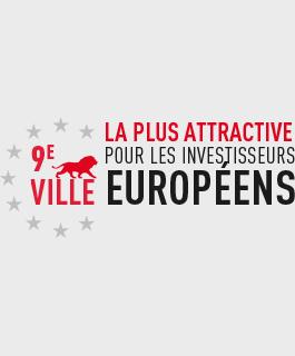 9e ville la plus attractive pour les investisseurs européens.